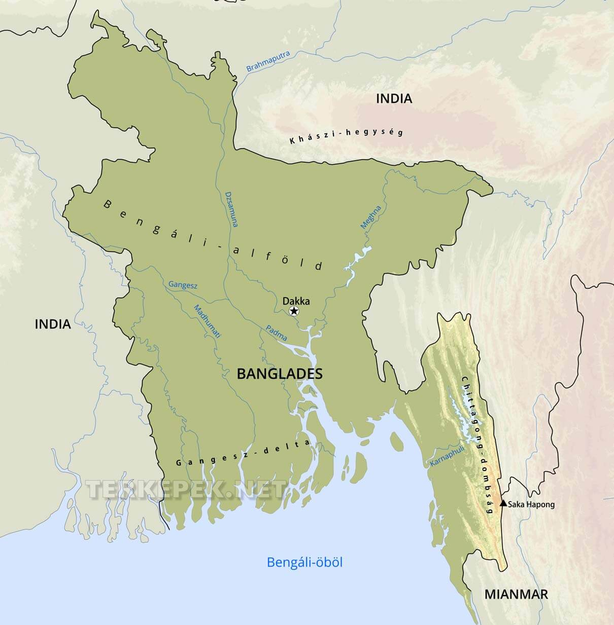 india domborzati térkép Banglades domborzati térképe india domborzati térkép
